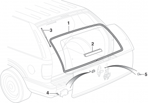 Liftgate Glass Components