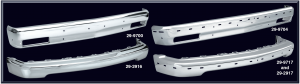 Chrome Front Bumpers