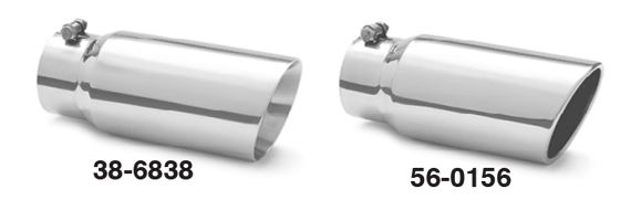 Diesel Stainless Steel Exhaust Tips