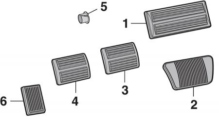 Pedal Pads