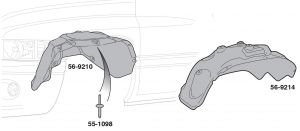 Front Fender Liners