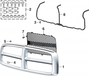Grille Shell and Components