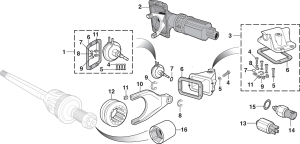 4WD Front Axle Components