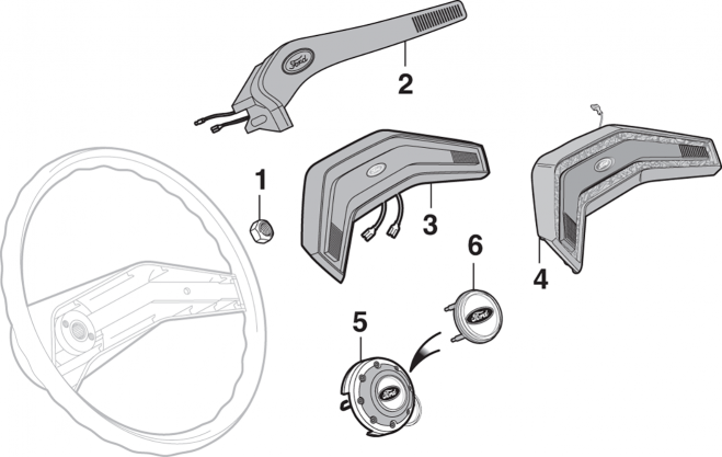 Steering Wheel Components