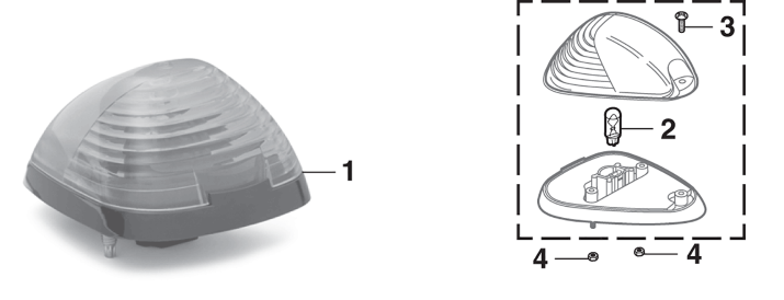 Roof Marker Light and Components