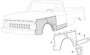 Steel Body Patch Panels