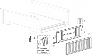 Stepside Tailgate Components