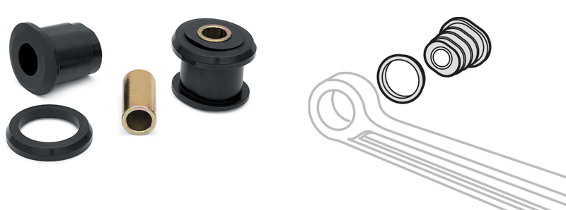 Polyurethane Axle Pivot Bushings