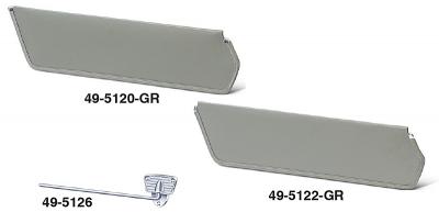 Original Type Colored FiberboardSun Visors