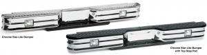 Chrome Rear Step Bumper - Star-Lite