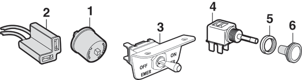 Emergency Flasher Switches