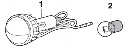 Styleside License Plate Lamp
