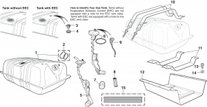 Rear-Mount Gas Tanks and Components