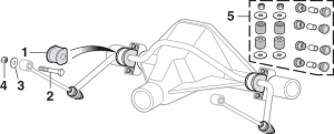 Rear Sway Bar Components
