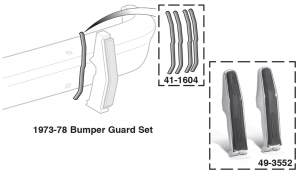 Front Bumper Guard and Seal Sets