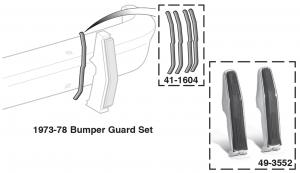 Front Bumper Guard and Seal Sets