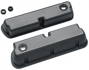 Finned Aluminum Valve Cover Set