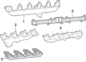 Exhaust Manifolds and Heat Riser