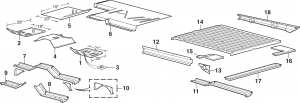 Steel Floor Body Parts