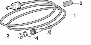 Speedometer Cable and Components