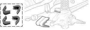 Polyurethane Offset C-Bushing Sets
