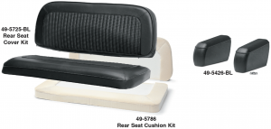 1966-77  Rear Bench Seat