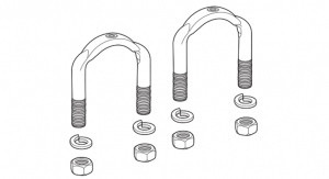 U-Joint U-Bolt Set