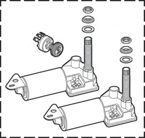Electric Wiper Motor Kit
