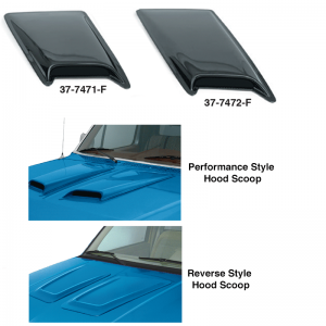 Hood Scoops ... Add a Performance Look