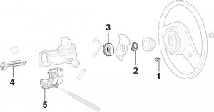 Steering Column - WITHOUT Tilt Wheel