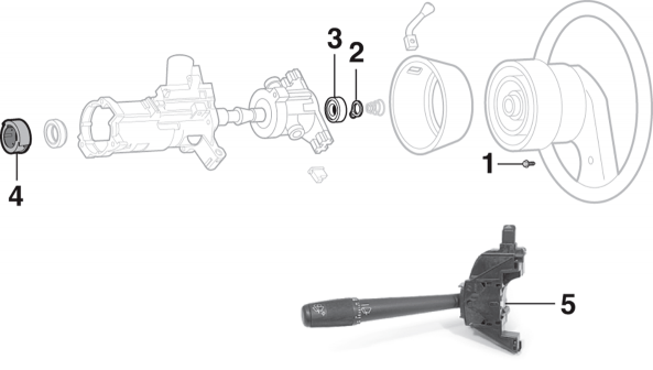 Steering Column - WITH Tilt Wheel