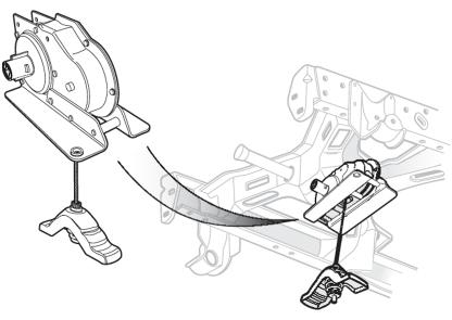 Spare Tire Hoist Assembly