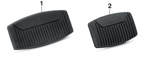 Brake and Clutch Pedal Pads