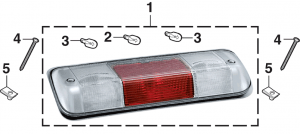 Third Brake and Cargo Light