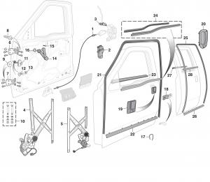 [CSDW_4250]   LMC Truck: Door Glass and Parts | 2001 53 Gmc Engine Diagram |  | LMC Truck