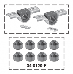 Urethane End Link Bushing Set and Frame Bushing Set