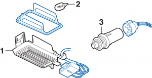 Liftgate Lamp and Components