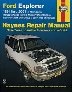 Haynes Manuals Explorer 1991-01 Manual