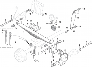 Rear Suspension - 2 Wheel Drive