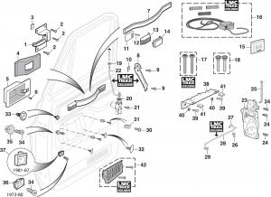 LMC Truck: Door Parts on 1956 chevy pickup wiring diagram, chevy wiring schematics, chevy 1500 wiring diagram, 1994 chevy 2500 wiring diagram, chevy truck wiring diagram, chevy 4x4 wiring diagram, 1990 chevy distributor wiring diagram, chevy express 3500 fuse panel, 1985 chevy wiring diagram,
