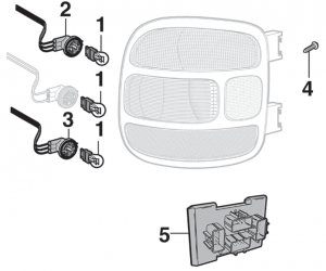 Tail Light Components - Stepside