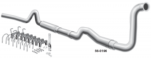 Performance Diesel Single Exhaust System
