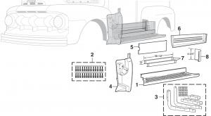 Side Steel Body Parts