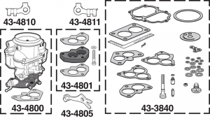 Carburetor and Repair Kits