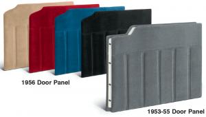 Velour Door Panel Sets