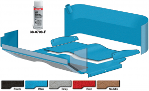 Complete Cab Carpet Kit