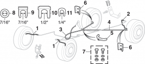 Brake Hoses and Brake Cables