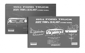 Body and Interior Assembly Manuals