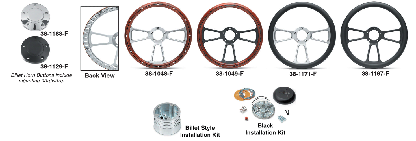 Wood and Leather Grained Vinyl Steering Wheels … The Ultimate Look