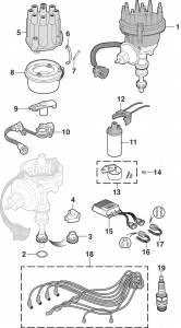 Electronic Ignition Components - V8